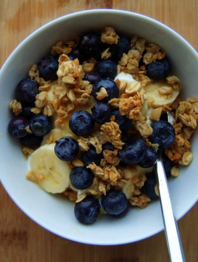 Blueberry-Banana Parfait