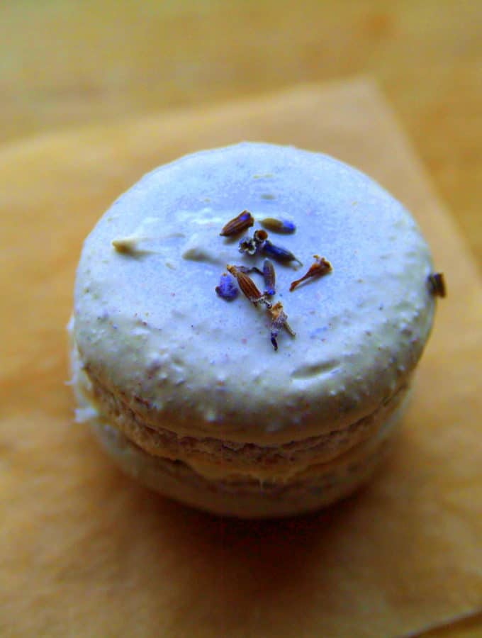 Patience is a Lavender Macaron