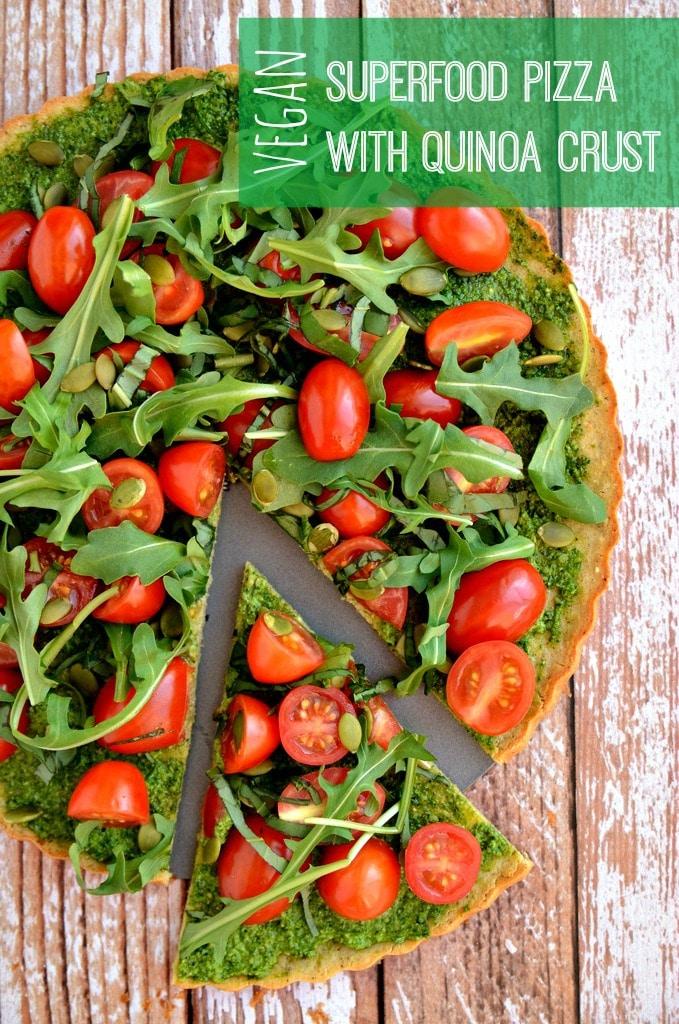 Vegan Superfood Pizza