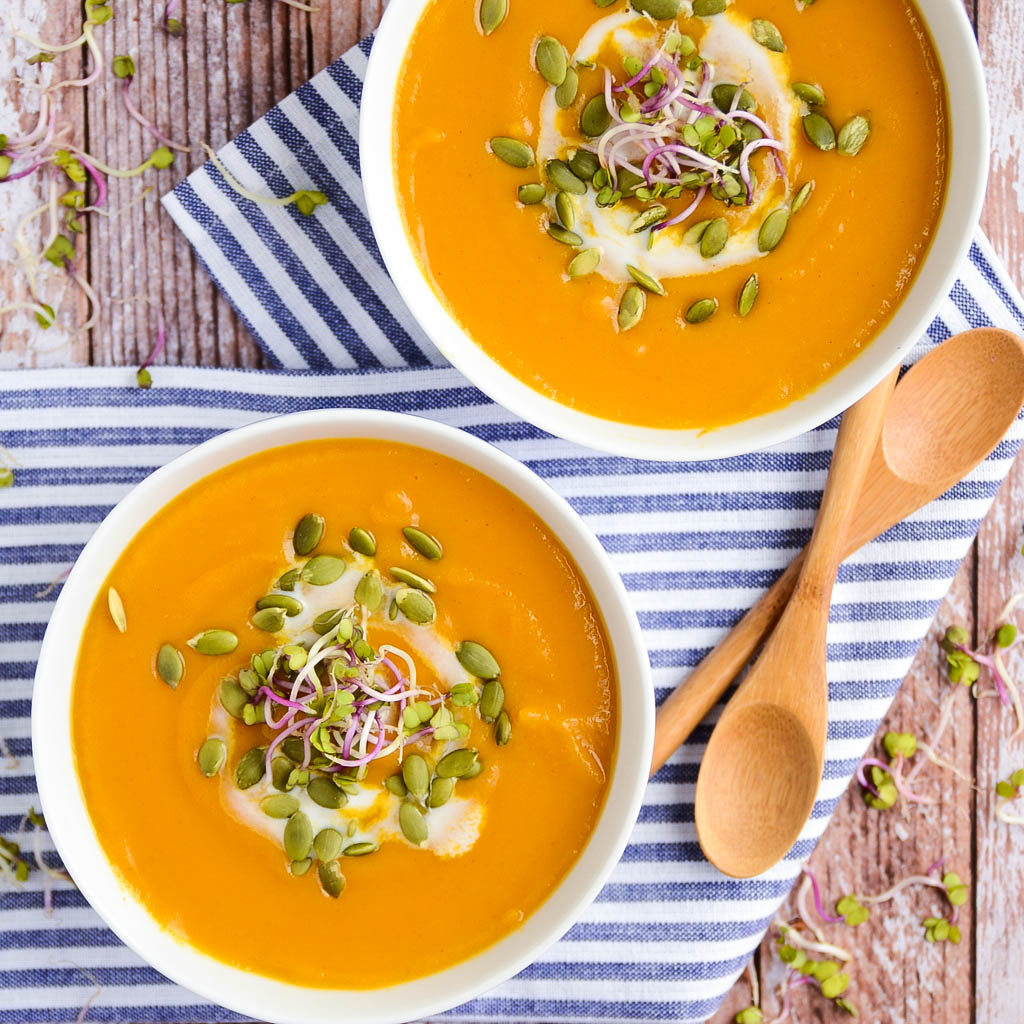 Image result for sweet potato soup