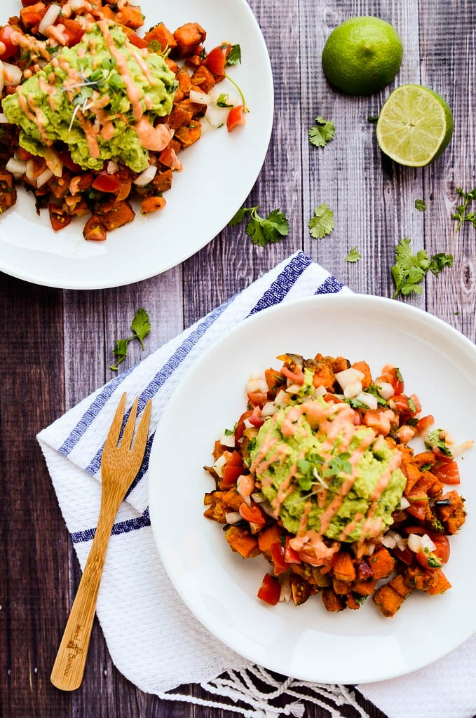 Southwest Sweet Potato Breakfast Hash | Vegan and Gluten-Free