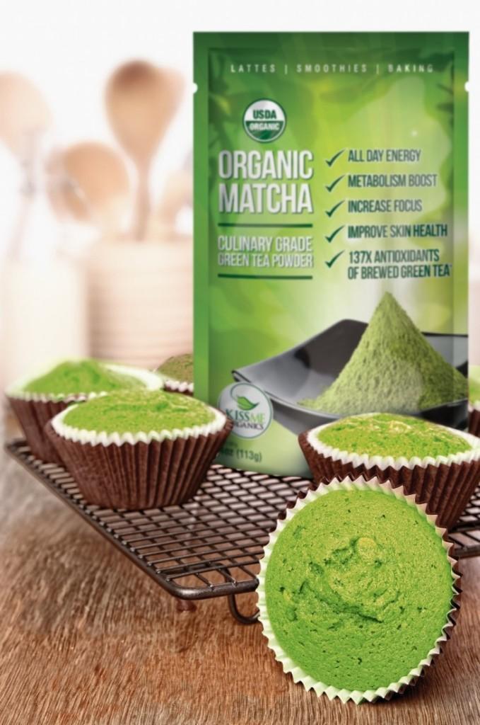 Kiss Me Organics Matcha Green Tea