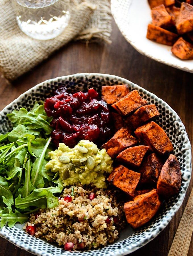 Grab-N-Go Sweet Potato, Cranberry & Quinoa Power Bowl