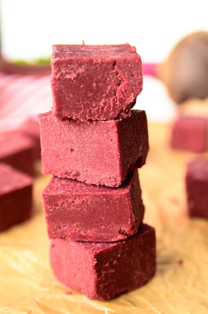 Just Beet It Red Velvet Fudge