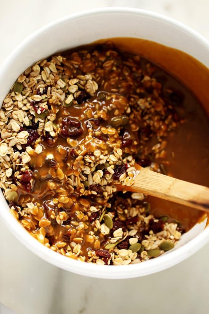 Dried Cherry, Sunflower Butter & Buckwheat Granola (Nut ...
