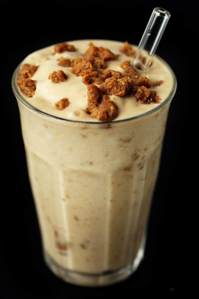 Vegan Peanut Butter Banana Cookie Dough Shake