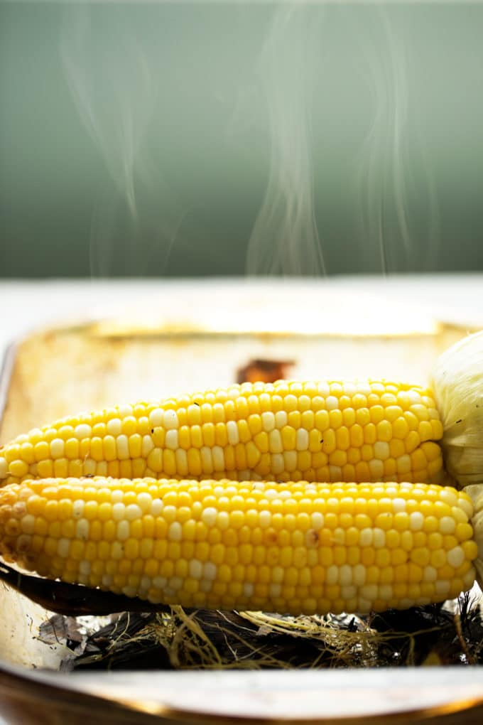 Grilled Cilantro, Lime and Paprika Corn on the Cob