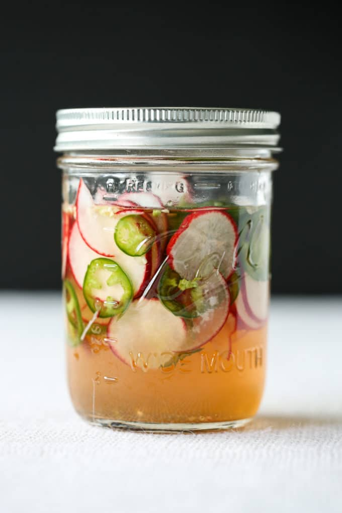 Quick Pickled Veggies