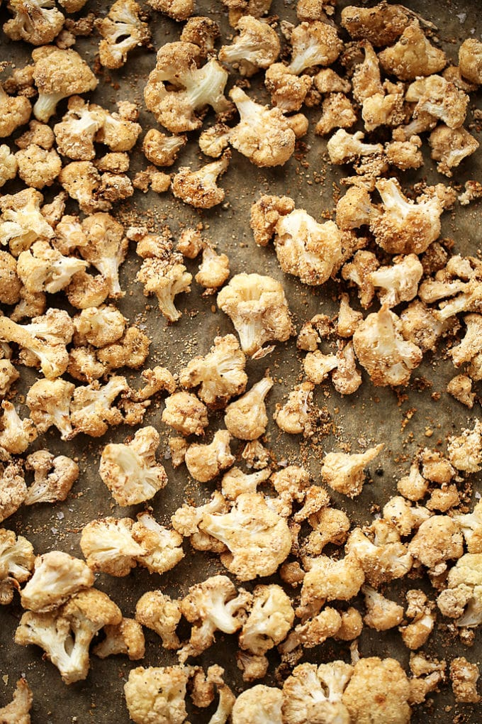 "Crispy Salt & Vinegar Cauliflower ""Popcorn"""