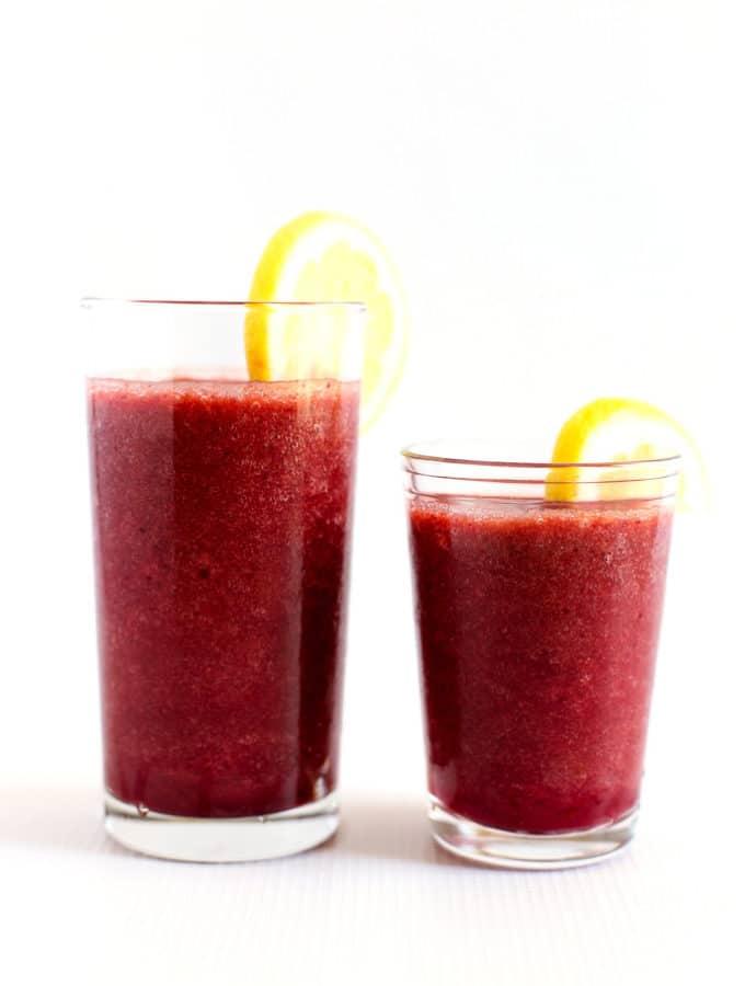 Hydrating Cherry-Grape Lemonade Smoothie