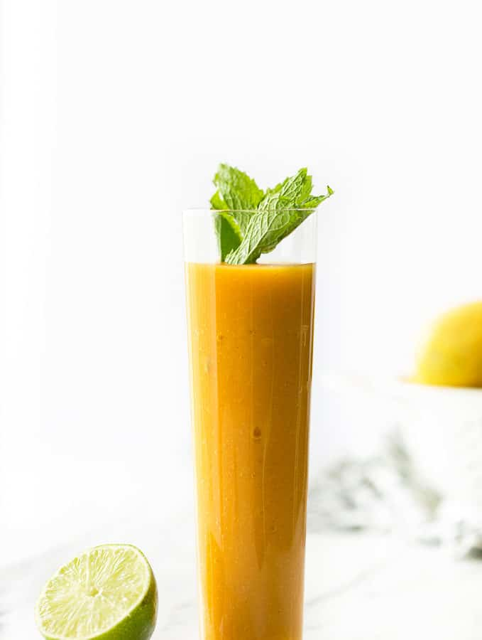 Nourishing Mango Passion Fruit Smoothie