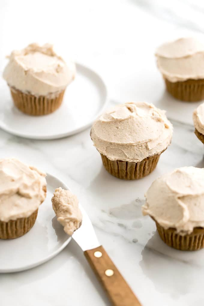 High Rise Pumpkin Cupcakes from Oh She Glows Everyday & A Giveaway!