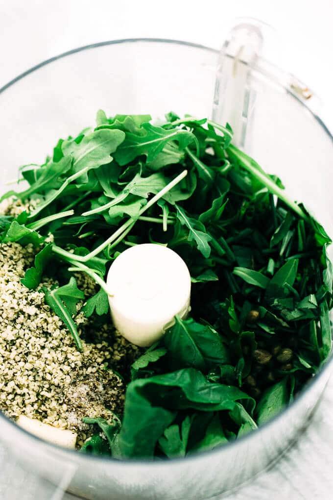 Vegan Green Goddess Power Pesto