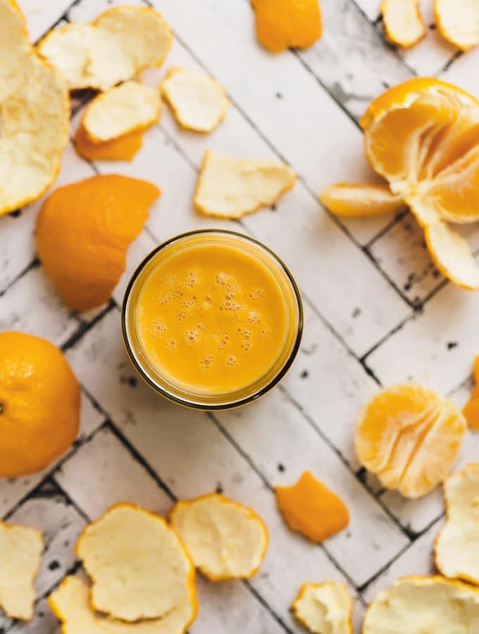 Tangerine Tango Immunity Smoothie