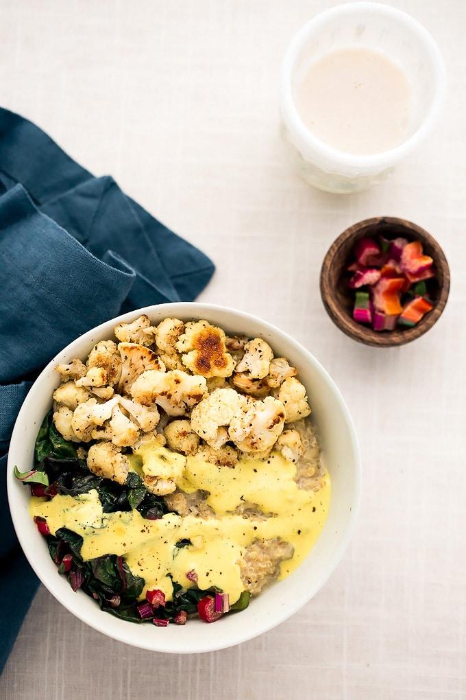 Grab-n-Go Vegan Breakfast Power Bowls Two Ways: Sweet + Savory