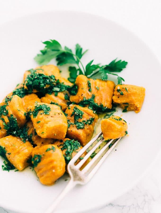Vegan Gluten-Free Carrot Gnocchi