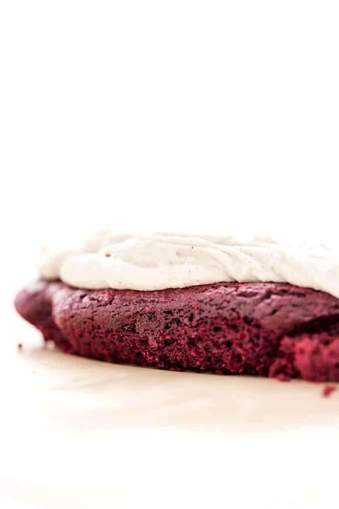Just Beet It Vegan Gluten-Free Red Velvet Cake
