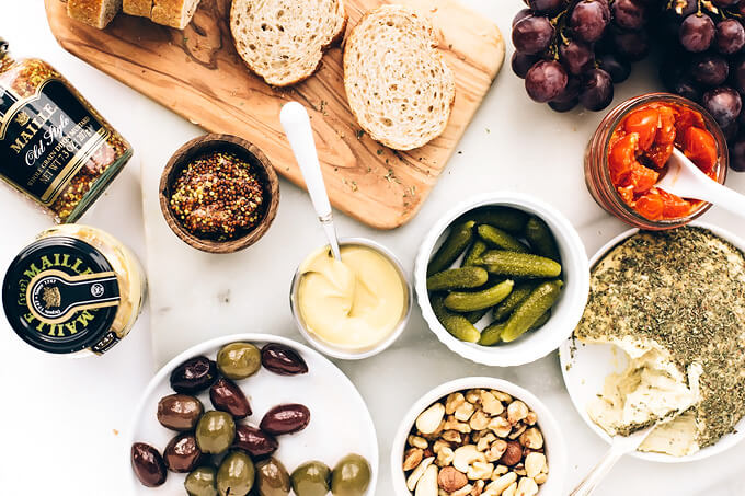 Epic Vegan Cheese Platter