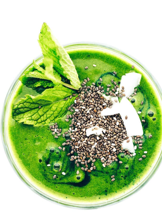 Super Green Shamrock Smoothie