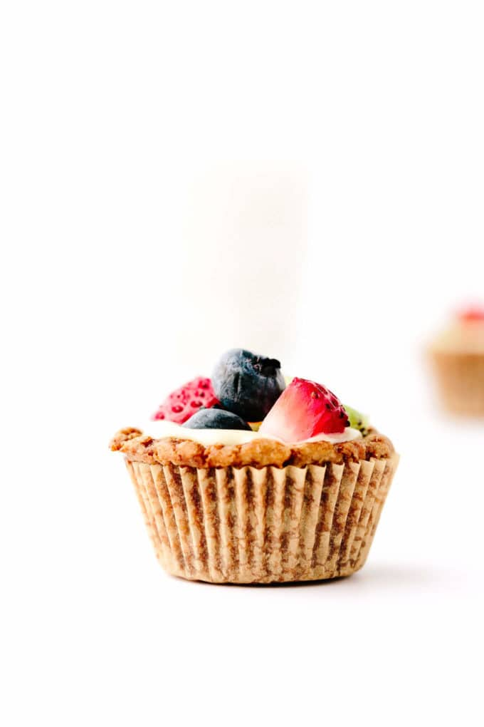 Vegan Gluten-Free Mini Fruit Tarts