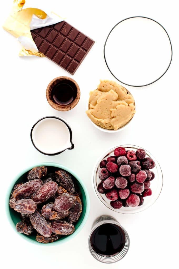 No-Churn Vegan Cherry Chocolate Chunk Ice Cream