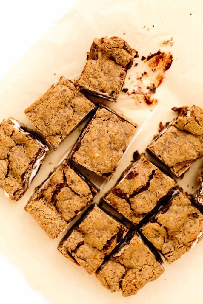 Vegan Gluten-Free S'mores Bars