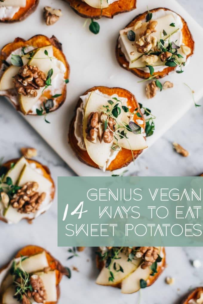 14 Genius Vegan Ways to Eat Sweet Potatoes