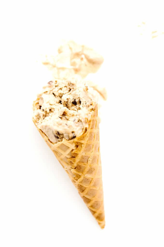 No-Churn Vegan PB Cookie Dough Ice Cream