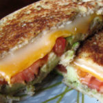 A Cure for Whichever Hangover Ails You: Seasoned Grilled Cheese with Avocado and Tomato