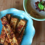 White Bean Hummus with Rosemary-Parmesan Dippers
