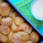 Whole-Wheat Pretzel Monkey Bread + Lightened-Up Beer Cheese