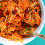 Clean Eats: Carrot + Apple Slaw