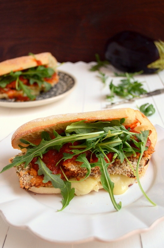 ggplant Marinara Sandwich