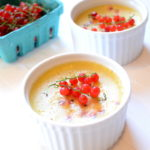Dairy-Free Vanilla, Cardamom + Currant Custard