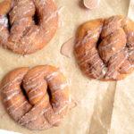 Cinnamon Roll Soft Pretzels