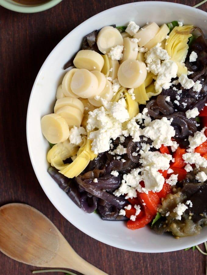 Super Veggie Mediterranean Salad