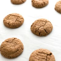 Soft and Tender Peanut Butter Cookies | Vegan and Gluten-Free