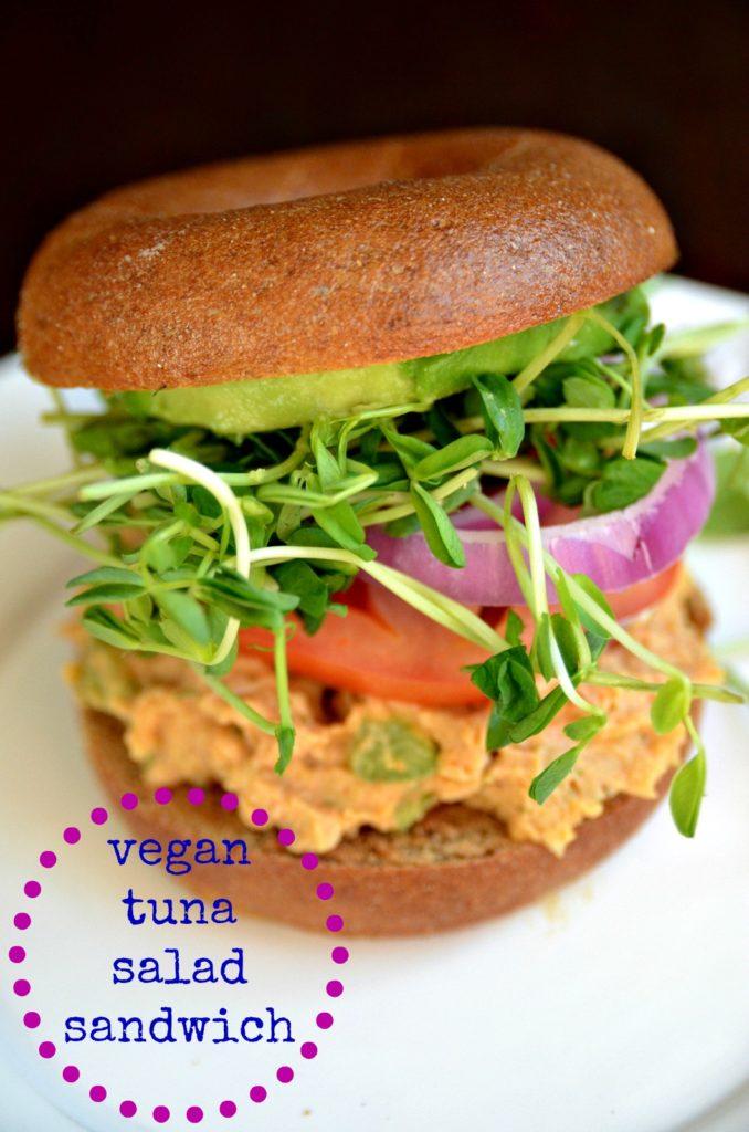 vegan tuna salad sandwich 2
