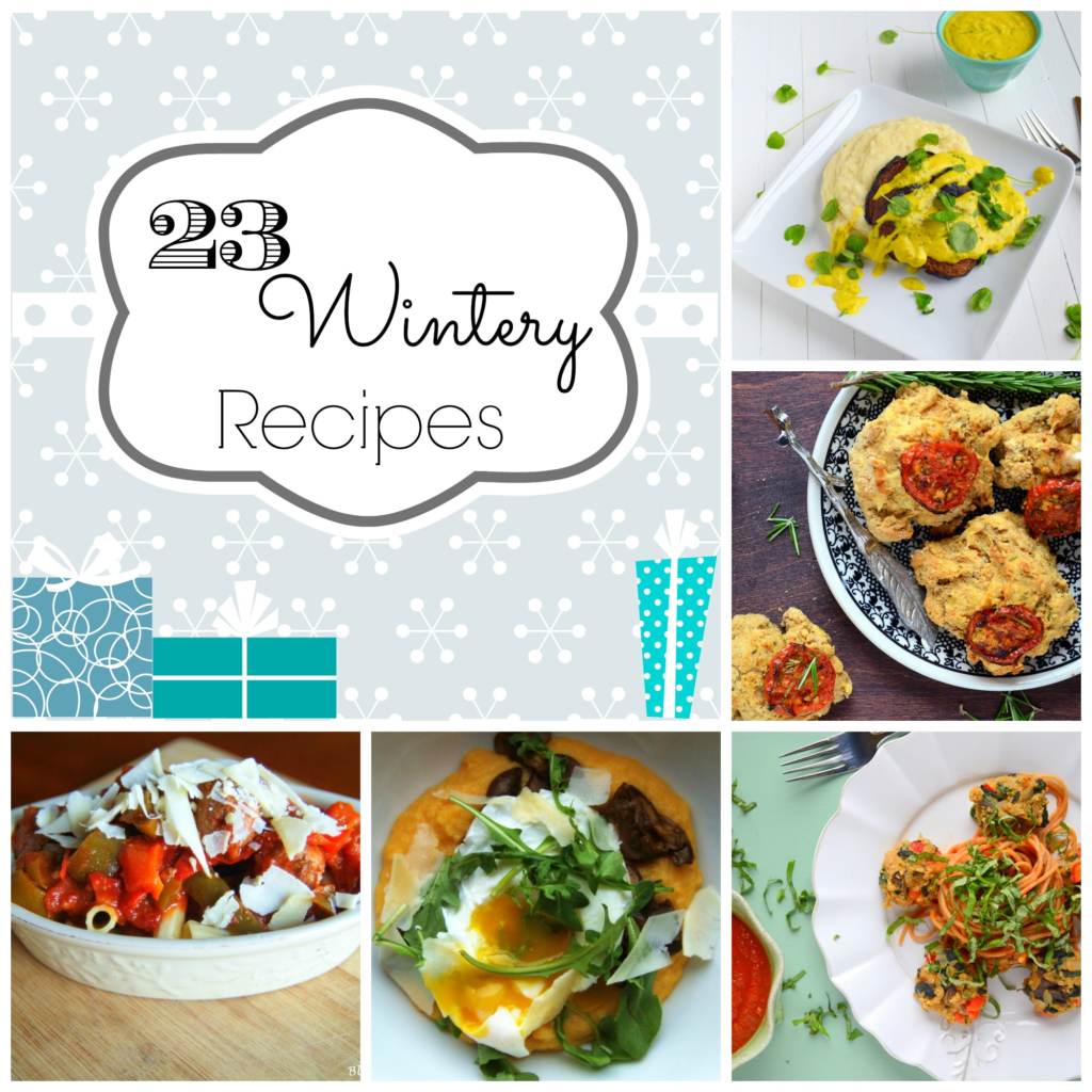 Winter Recipe Collage