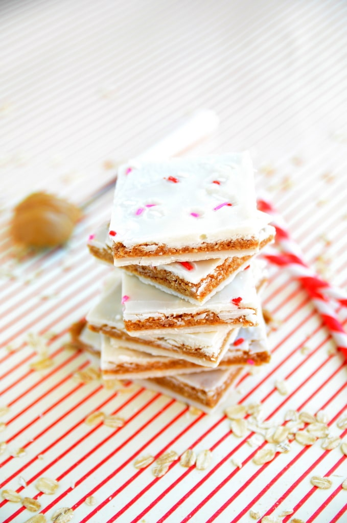 Vegan Peanut Butter Cookie Dough Bark