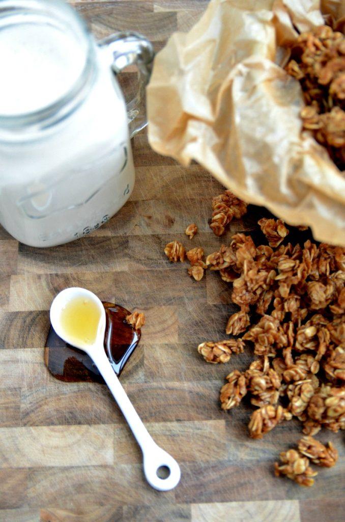 Cinnamon-Almond Granola