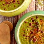 """Cheezy"" Broccoli + Kale Soup"