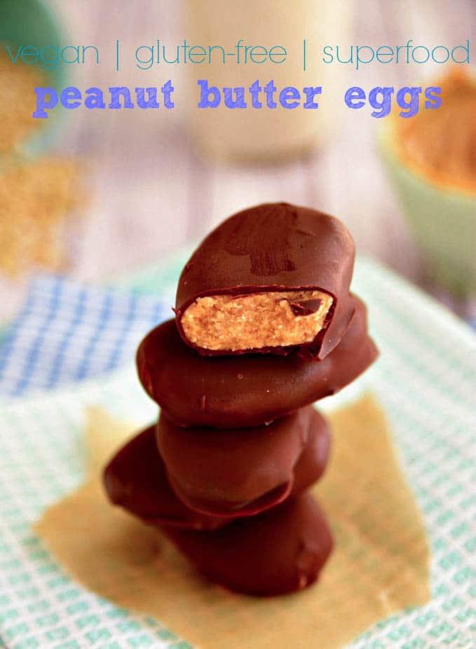 Vegan Gluten Free Peanut Butter Eggs