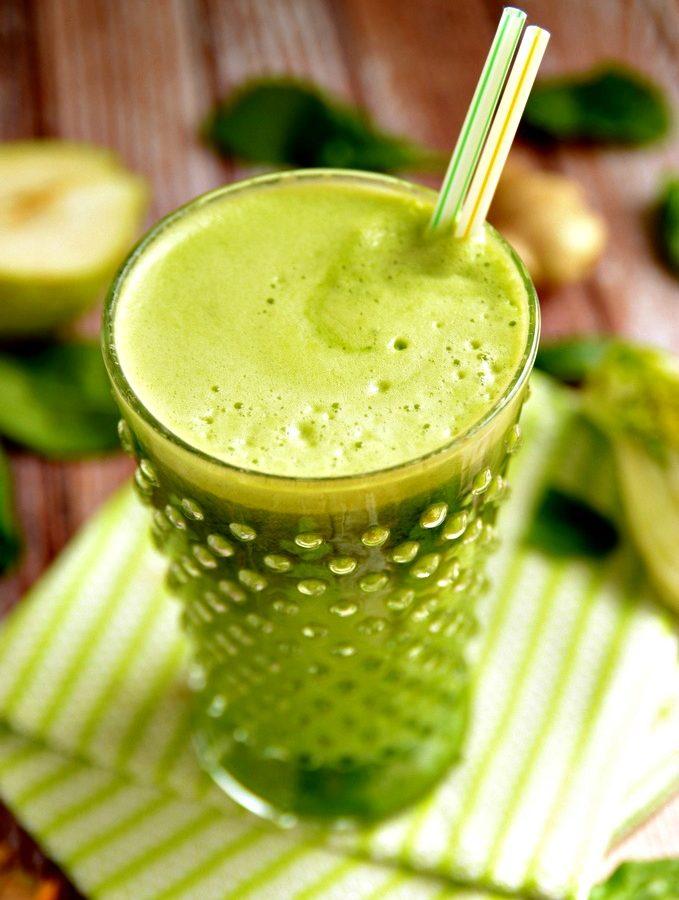 Spring Green Power Juice