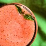 Strawberry Lemonade Aloe Vera Smoothie