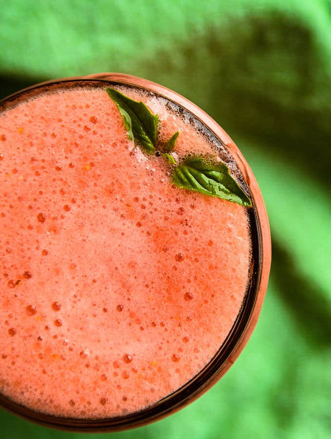 Strawberry Lemonade Aloe Vera Smoothie