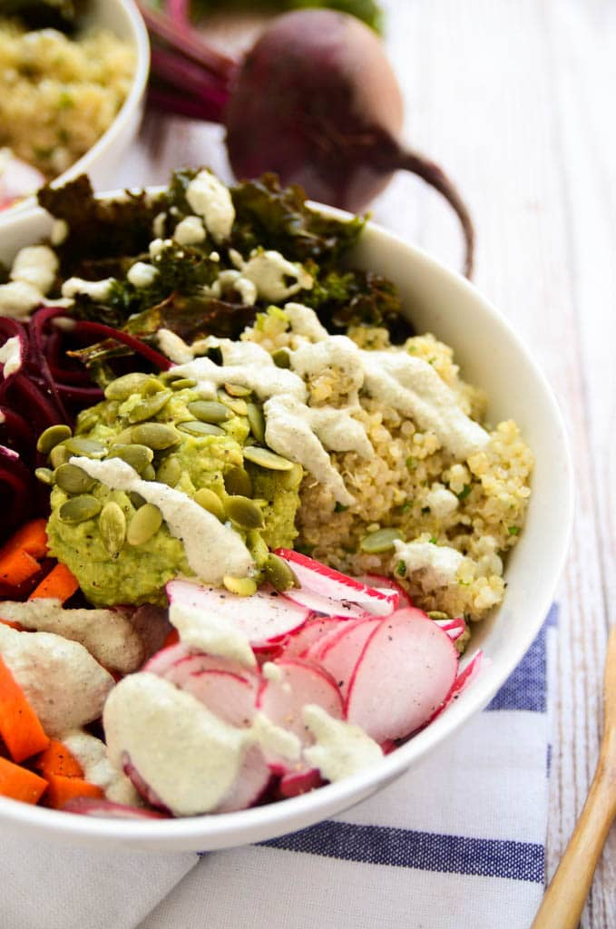 Elevate Your Senses Power Bowl Vegan and Gluten Free