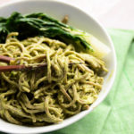 Creamy Sesame-Avocado Soba Noodles | Vegan + Gluten-Free