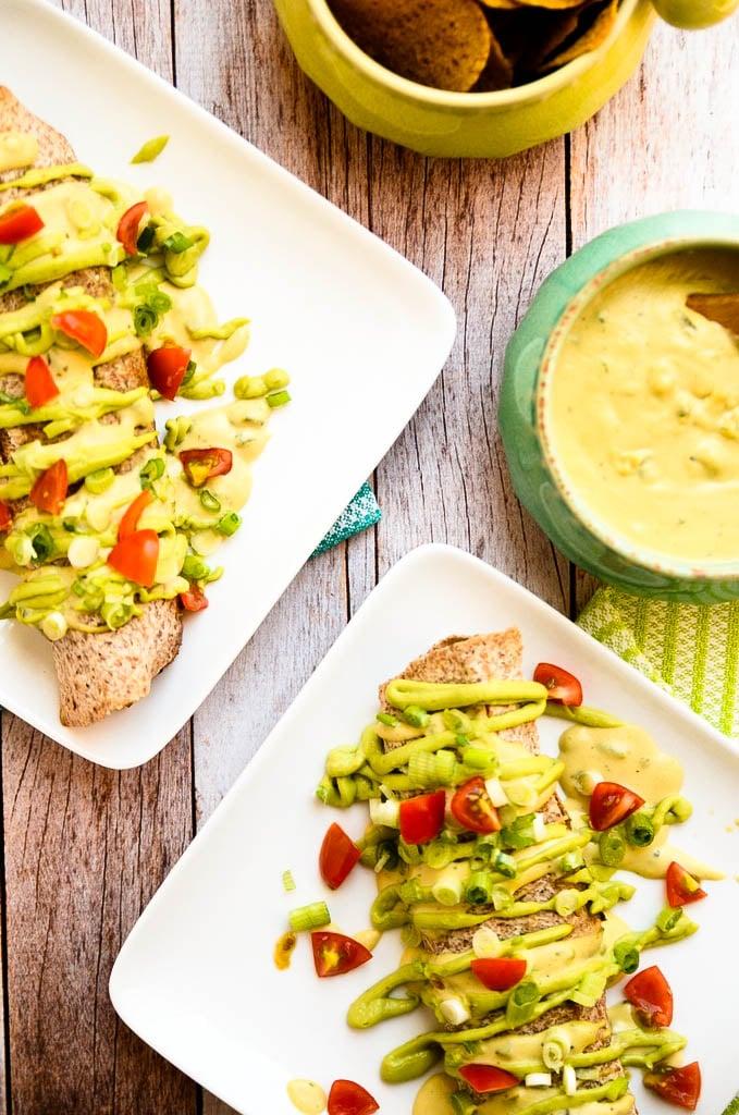 Mushroom and Poblano Enchiladas Vegan