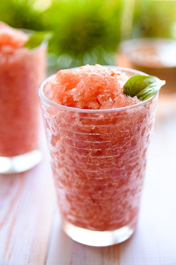 Watermelon Rose Granita